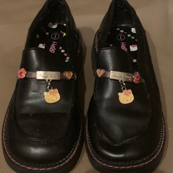 ed726eb18 Hello Kitty Shoes | Girls Charmed Loafers | Poshmark